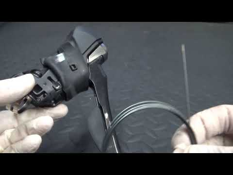 How to change shift cables Shimano RS685 shifters
