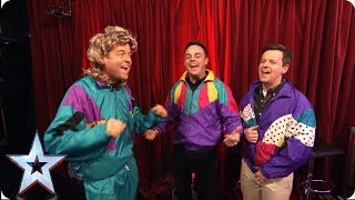 FIRST LOOK: Ant & Dec and Stephen throwback to the 80s | BGMT 2019