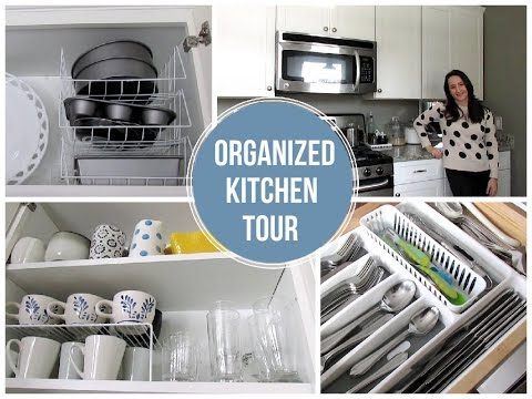 ORGANIZED KITCHEN TOUR ON A BUDGET | Favorite Organized Space Collab