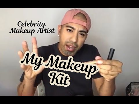 Whats In My Makeup Kit- Celebrity Makeup Artist