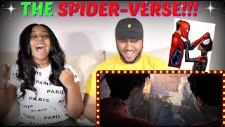 """SPIDER-MAN: INTO THE SPIDER-VERSE"" Official Trailer #2 REACTION!!"