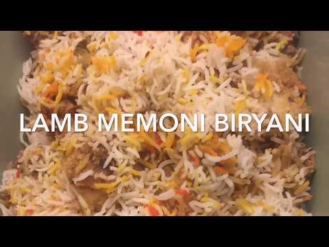 Memoni Lamb Biryani/ Memoni Food Recipes