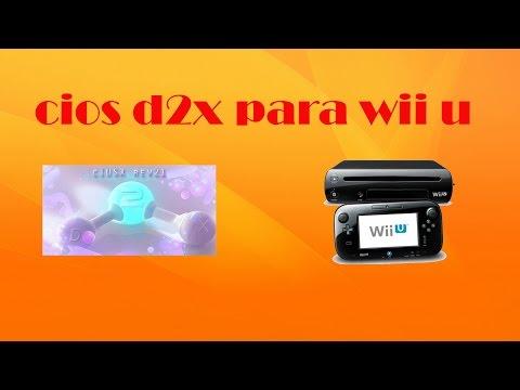 INSTALAR CIOS D2X EN WII U