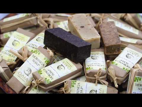 Gaia Earth Alchemy : Making of Moringa Soap