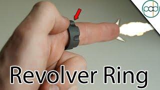 Making a Black Zirconium Revolver Ring