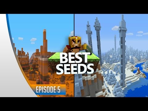 BEST SEEDS #5 - Minecraft Xbox & Ps3 : Mesa Biome, Ice Spikes & Diamants ! (TU31)