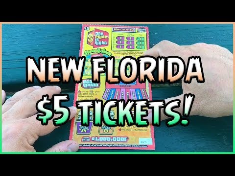 NEW FLORIDA TICKETS!! (4) $5 The Price is Right 💰 Florida Lottery Scratchers