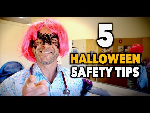 5 HALLOWEEN SAFETY TIPS (for Parents) | Dr. Paul