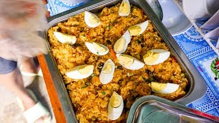 Philippines Food for a Cause - Aunty's Secret CARROT RICE at Gawad Kalinga Village!