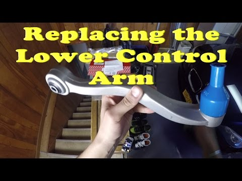 Replacing the Lower Control Arm on a BMW
