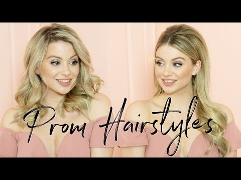 Prom Hairstyles For Long and Short Hair | Milk + Blush