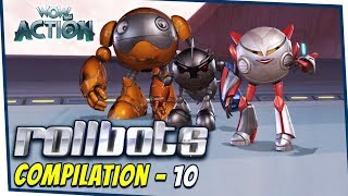Rollbots In Hindi | Compilation 10 | Hindi Cartoons for Kids | Wow Kidz Action