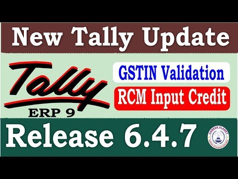 Tally ERP 9 Release 6.4.7 New Tally Update | Download Latest Tally Version