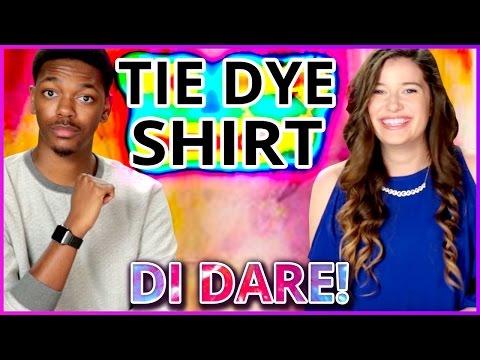 DIY Tie Dye Shirt?! Di-Dare