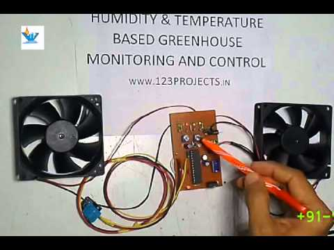 Temperature and humidity control for green house monitoring using arduino  -- english