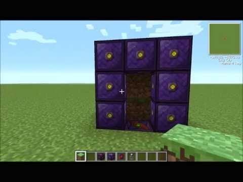 Minecraft: Voltz teleporter tutorial