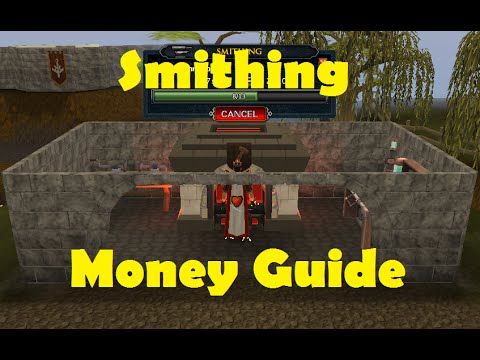 Runescape Money Making Method for Smithing 1m+