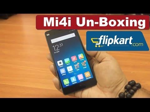 Xiaomi Mi4i Unboxing | India Flipkart | 5