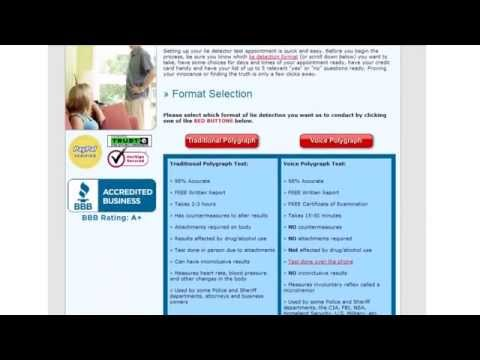 Voice Stress Lie Detector Testing