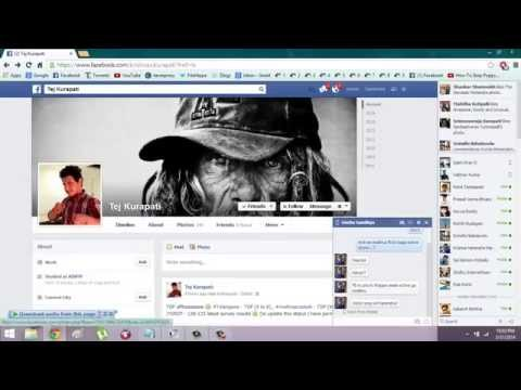 How to view facebook Private or deleted profile picture  !!