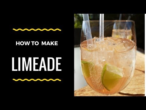 Perfect Summer Drink -  Limeade Recipe - Jamaican Lime Drink 🍹