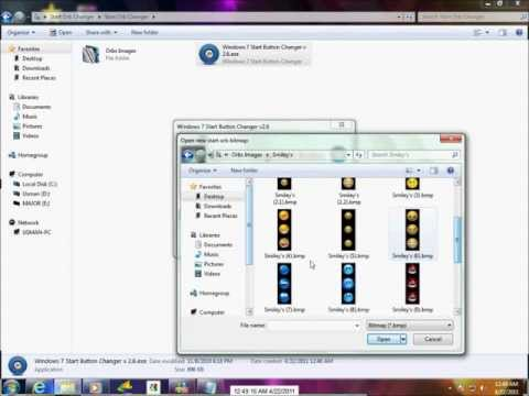 How to Change Your Windows 7 Start ORB + download Link