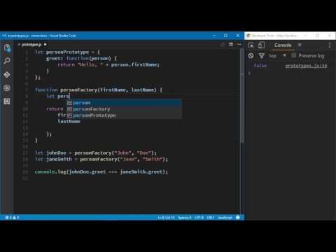 JavaScript Best Practices - Using Prototypes