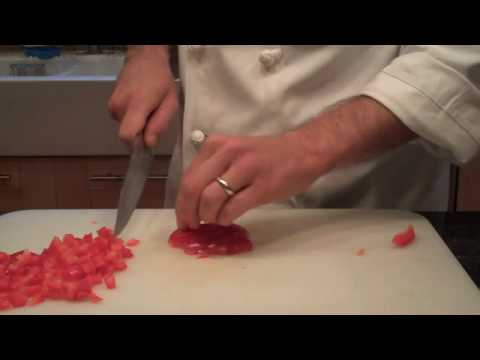 Cutting Peppers