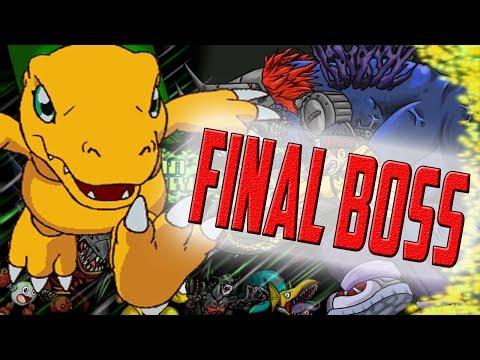 Playing Digimon World w/psx emulator cheater - Final Boss =Machinedramon=  + Ending