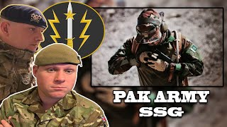 British Army Soldiers React to Pakistan Army Special Service Group (SSG)