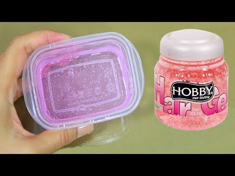 WATER SLİME 💦 HOW TO MAKE CRYSTAL CLEAR SLIME WITHOUT GLUE, WITHOUT BORAX! WATER SLIME RECIPES!