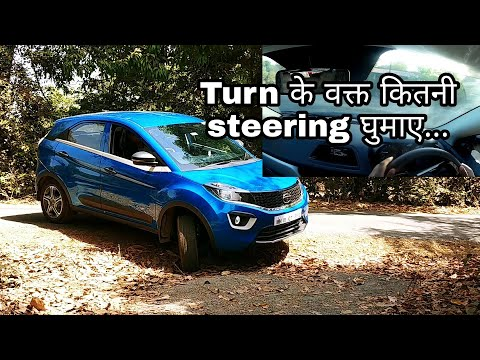 While TURNING how to handle your car|Learn car driving for beginners