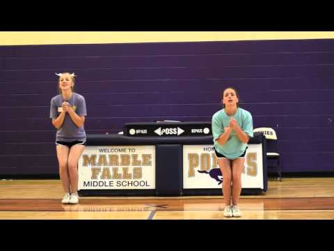 Cheer Tryouts 2016 - Jumps