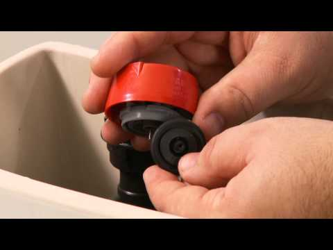 Flush Out the Fill Valve on a Two-Piece Toilet