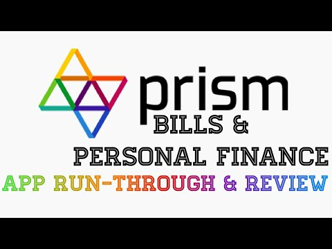 Prism Bills and personal finance App Run-Through and Review |Android|