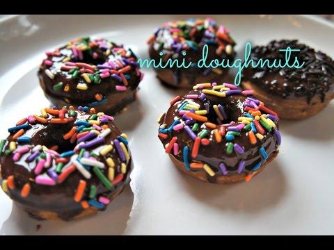 How to Make Mini Nutella Glazed Doughnuts