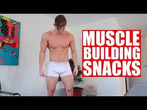 BEST SNACKS FOR BUILDING MUSCLE AND GETTING RIPPED