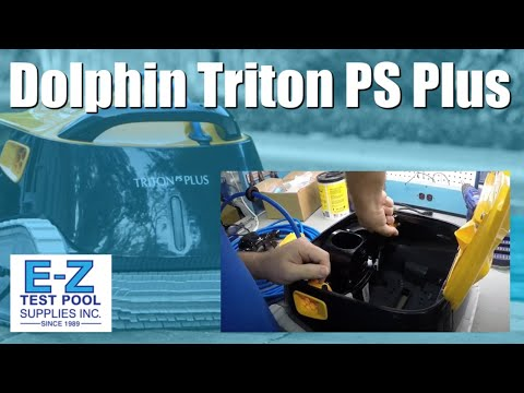 Maytronics Dolphin Triton Plus 99996212 - US Robotic Cleaner With Powerstream
