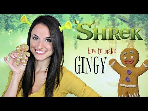 How to Make Gingy! from Shrek | FICTION FOOD FRIDAY