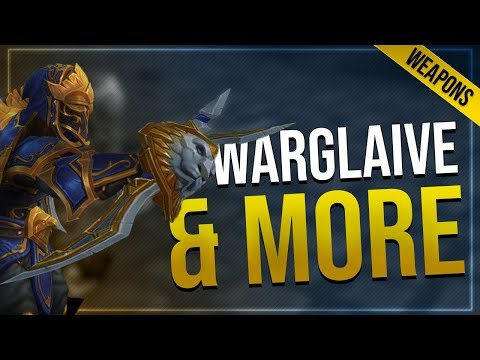 Alliance Warfront Warglaive & Uldir Warglaive, Sword & Axe   In-game Preview In Battle for Azeroth!