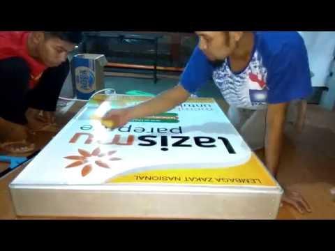 Cara Pemasangan Stiker Neon Box - Lazismu Parepare