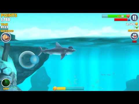Hungry Shark Evolution gameplay!