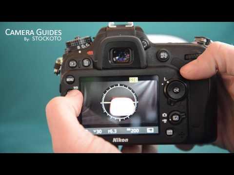 How to set a custom white balance preset on the Nikon D7100