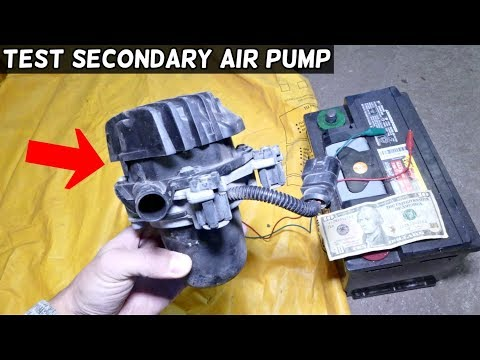 HOW TO TEST SECONDARY AIR PUMP  Most Cars