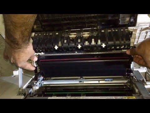 remove the transfer belt on Ricoh Aficio 2035, 3025, 3035, 3045, Copier