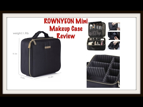 Review of the ROWNYEON Mini Makeup Case
