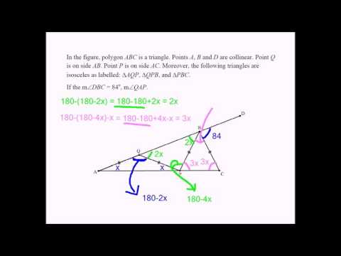 Challenging Geometry Problem for Middle School Students