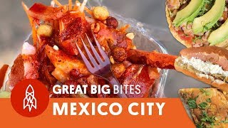 Download 6 of the Best Street Food Finds in Mexico City Video