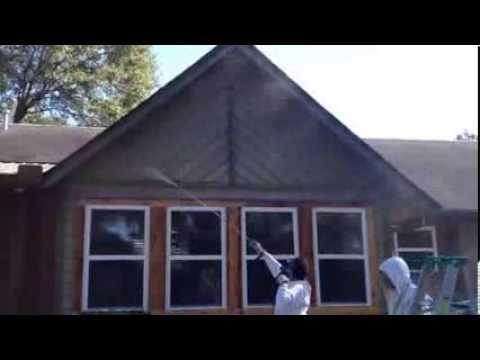 Power Washing Cedar Siding