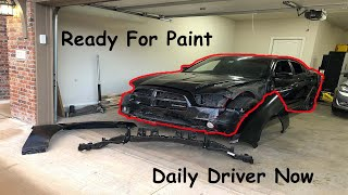 Rebuilding a wrecked 2012 Dodge Charger part 3